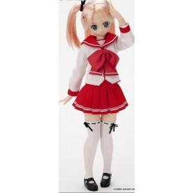 Obitsu 25cm White Skin Girl Soft Bust Body L Type